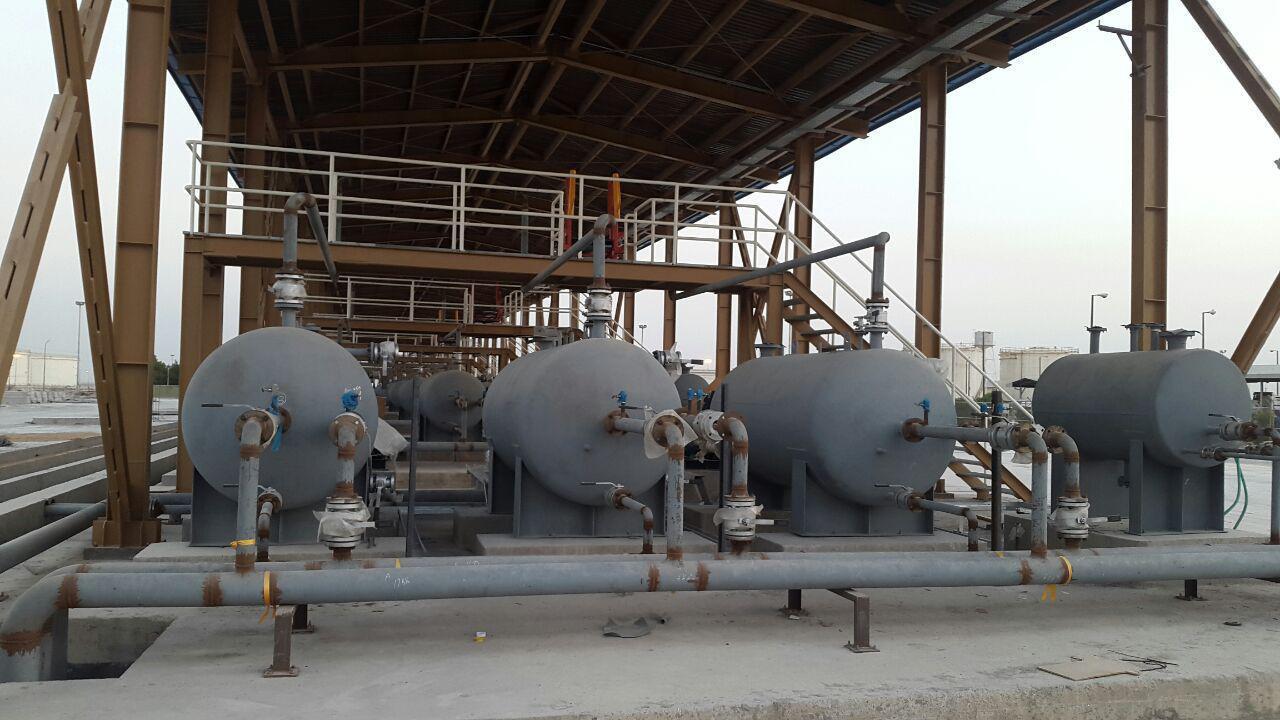 پروژه یندر ماهشهر کارفزما:شرکت نفت تهران